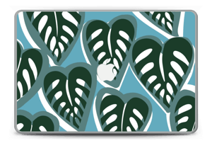 """Tropical Plants Turquoise Skin MacBook Pro 15"""" -2015"""