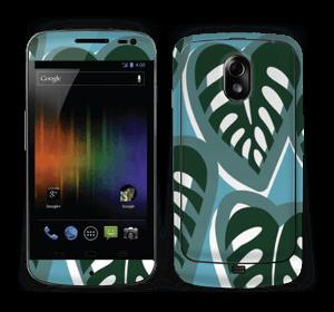 Tropical Plants Turquoise Skin Nexus