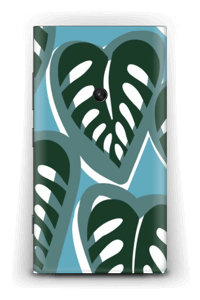 Tropical Plants Turquoise Skin Nokia Lumia 920
