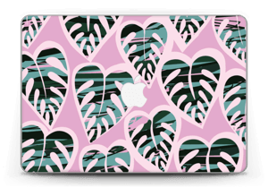 "Tropical Plants Violet Skin MacBook Pro Retina 13"" 2015"