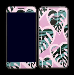 Tropical Plants Violet Skin Pixel XL
