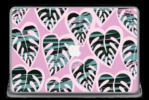 "Tropical Plants Violet Skin MacBook Pro 15"" -2015"