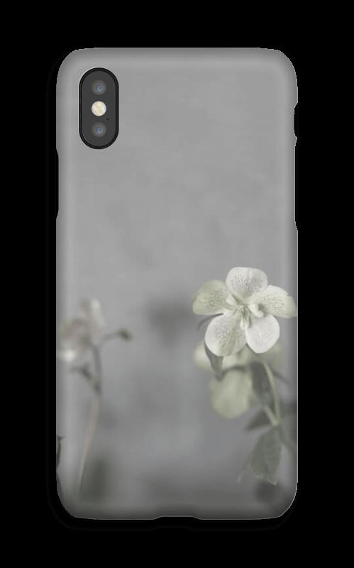 Flowery blues deksel IPhone X