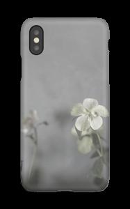 Flowery blues deksel IPhone XS