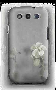 Flowery blues deksel Galaxy S3