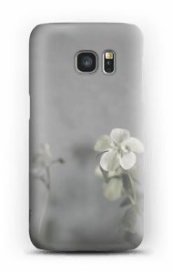 Flowery blues cover Galaxy S7