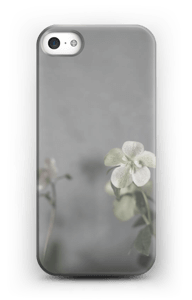 Flowery blues cover IPhone SE