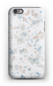 Case with watercolor splash