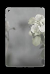 Flowery Blues Skin IPad Mini 4