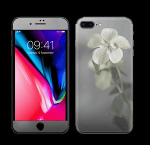 Flowery Blues Skin IPhone 8 Plus