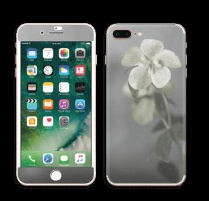 Flowery Blues Skin IPhone 7 Plus