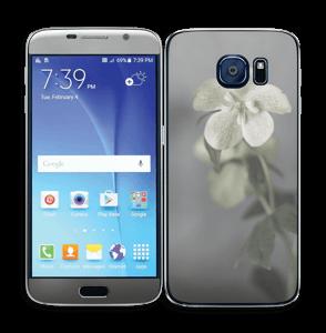 Flowery Blues Skin Galaxy S6