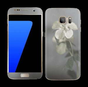 Flowery Blues Skin Galaxy S7