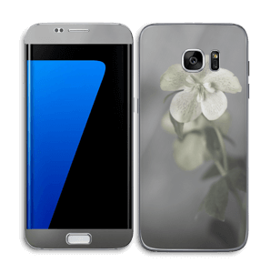 Flowery Blues Skin Galaxy S7 Edge