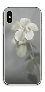 Blumen Blues Skin IPhone X