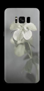 Flowery blues Skin Galaxy S8