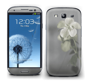 Flowery Blues Skin Galaxy S3
