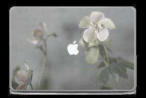 """Flowery Blues Skin MacBook Pro 17"""" -2015"""