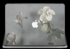 "Flowery Blues Skin MacBook Pro Retina 15"" 2015"