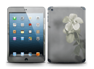 Beautiful flowery blues skin for your laptop or iPad
