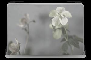 Flowery Blues Skin Laptop 15.6