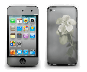 Flowery blues Skin IPod Touch 4th Gen