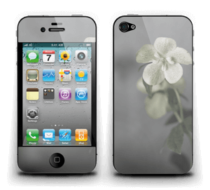 Flowery Blues Skin IPhone 4/4s