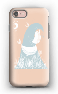Peaceful Ocean Whales Capa IPhone 7 tough