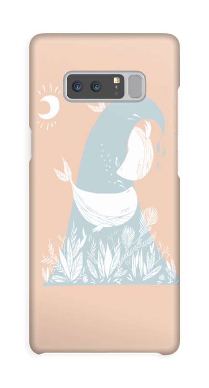 Peaceful Ocean Whales Capa Galaxy Note8