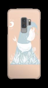 Peaceful Ocean Whales Coque  Galaxy S9 Plus