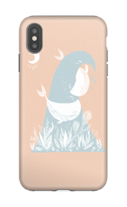 Peaceful Ocean Whales Coque  IPhone XS Max tough
