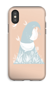 Peaceful Ocean Whales Coque  IPhone XS tough