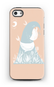 Peaceful Ocean Whales Coque  IPhone 5/5s tough