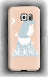 Peaceful Ocean Whales Capa Galaxy S6 Edge