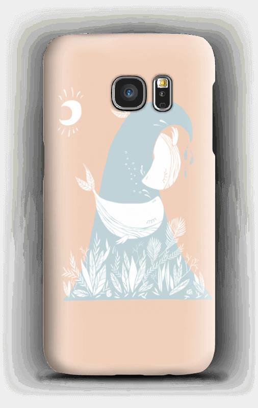 Peaceful Ocean Whales Capa Galaxy S7