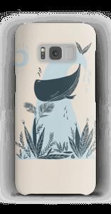 Peaceful Ocean Whale Capa Galaxy S8