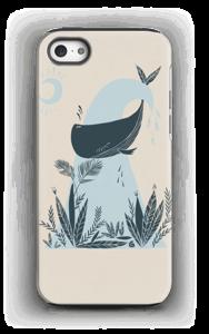 Peaceful Ocean Whale Capa IPhone 5/5s tough