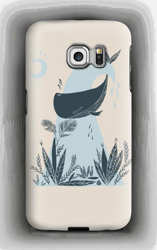 Peaceful Ocean Whale Capa Galaxy S6 Edge