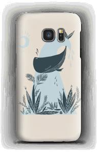 Harmony and peaceful ocean phone case