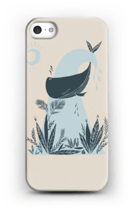 Peaceful Ocean Whale Capa IPhone SE