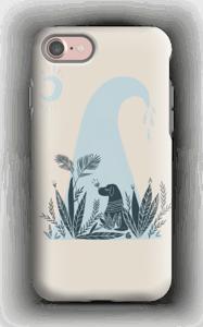 Peaceful Ocean Dog Capa IPhone 7 tough