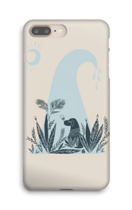 Peaceful Ocean Dog Capa IPhone 8 Plus