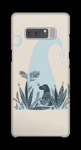 Peaceful Ocean Dog deksel Galaxy Note8