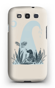 Peaceful Ocean Dog cover Galaxy S3