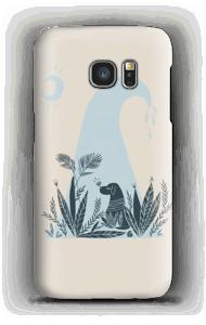 Peaceful Ocean Dog  Handyhülle Galaxy S7