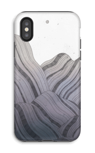 Montagnes Coque  IPhone X tough