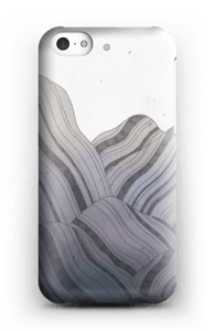 Wistful mountain phone case