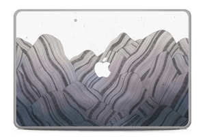 A skin with beautiful mountains for your laptop
