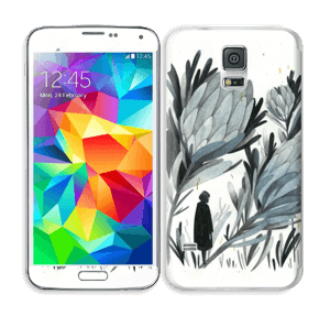 A skin in darker colors and mystic for your Galaxy S5
