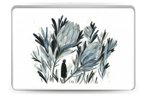 A skin in darker colors and mystic for your Laptop 15.6